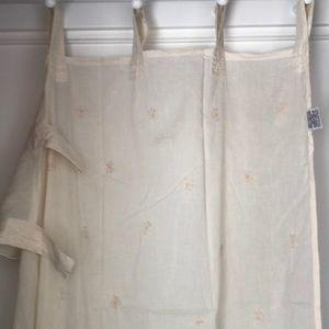Sheer Curtain Panels (4 of them)